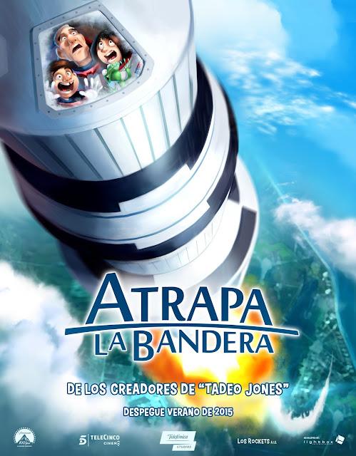 Película infantil animación española Atrapa la Bandera