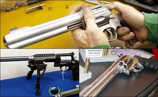 5 Senjata Pistol terbesar yang pernah Diciptakan Manusia