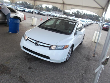 Honda civic 2007 ex $ 560 neg Blanco recien importado car fax