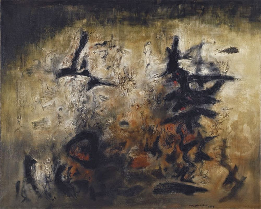 ZAO Wou-ki Nous Deux (We Two) 1983