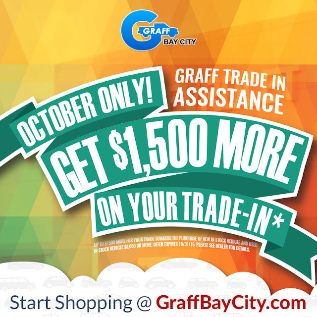 Get $1500 More When You Trade In at Graff Bay City