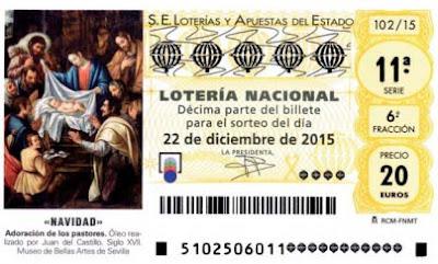 Directo Lotería de Navidad 2015