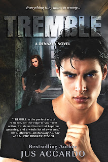 Cover Reveal: Tremble by Jus Accardo