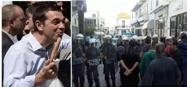 Το πρώτο «αίμα» των funds στο Ρέθυμνο με έναν πρωθυπουργό να τρώει κουλούρια χασκογελώντας