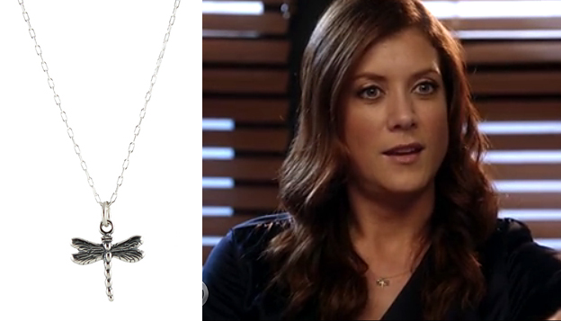 Kate Walsh Dragonfly Necklace