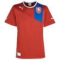 Euro 2012 Czech Home Jersey
