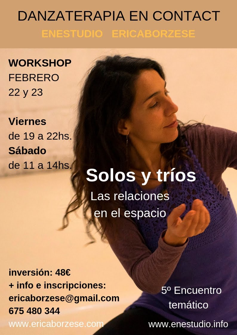 Danzaterapia en CI 22-23/Feb