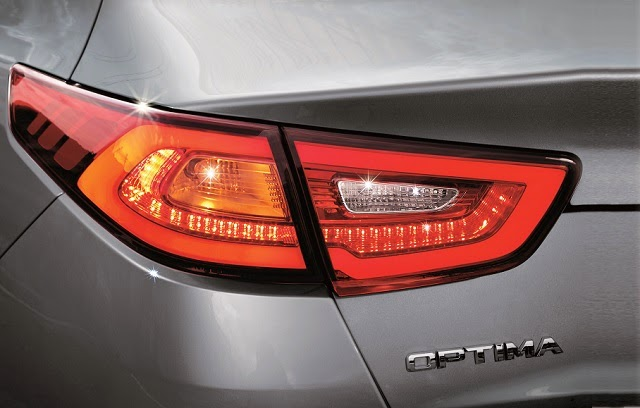 New rear tail lamp for the Kia Optima K5