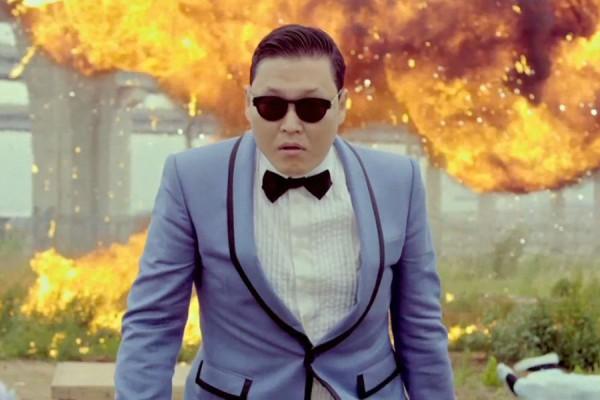 Psy Bosan Dengan Gangnam Style
