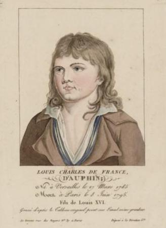 Louis XVII in Art Louisxviia