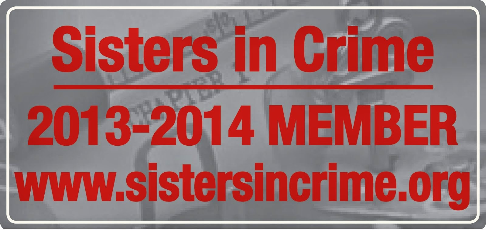 Sister's in Crime badge