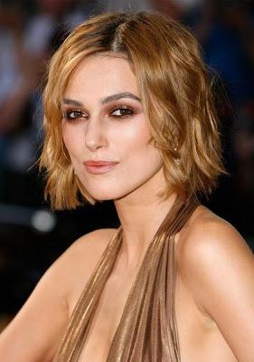 Keira Knightley Short Layered Hair Styles