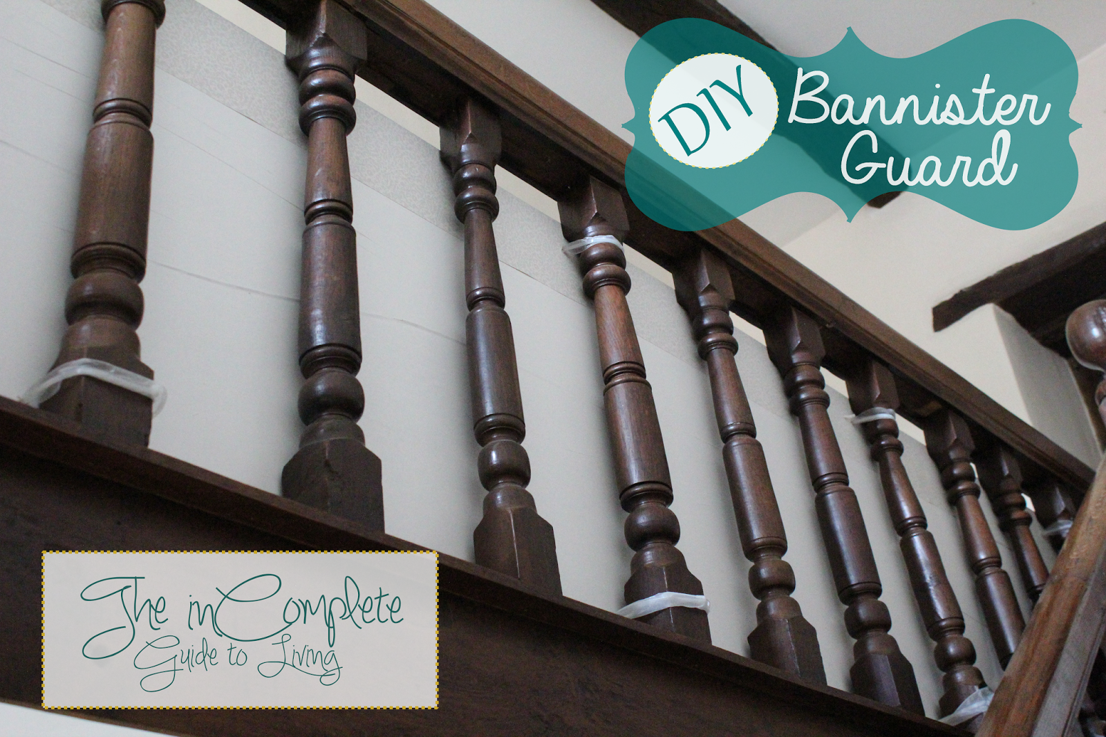 Allow Me To Introduce You To Our Wooden, Jacobean Banister (from The  1600u0027s). It Has Been Adapted By Previous Owners (Jimu0027s Grandparents) To Fit  The ...