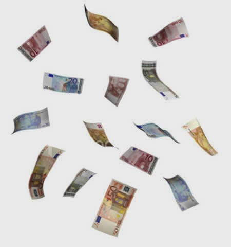Lluvia de billetes