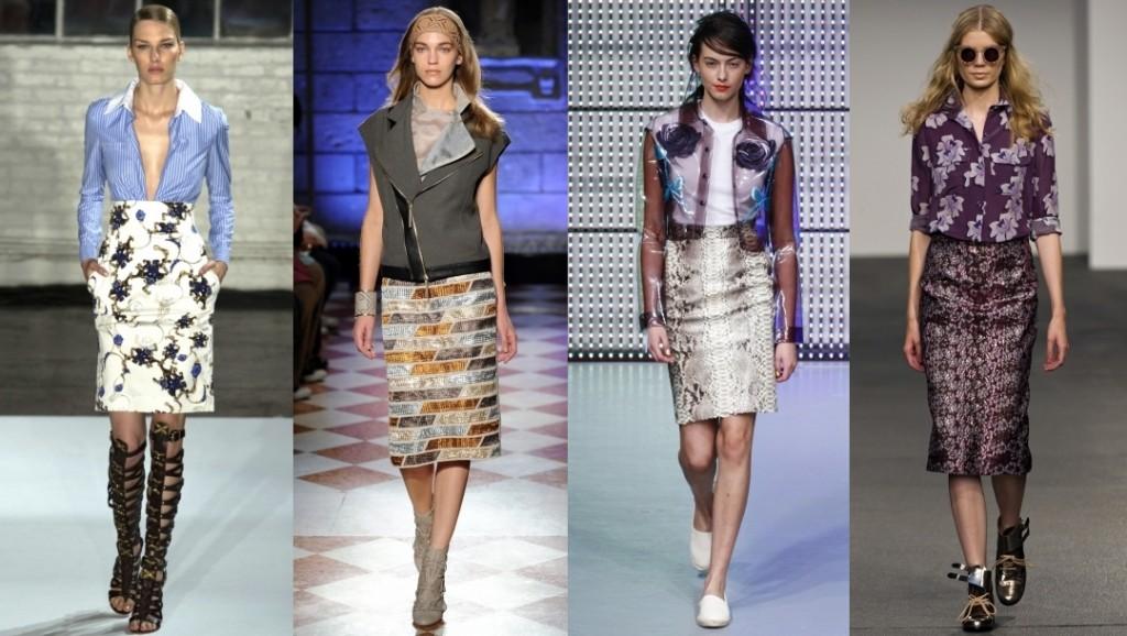 Мода Весна 2017 Беннетон