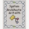 system architect cross stitch chart
