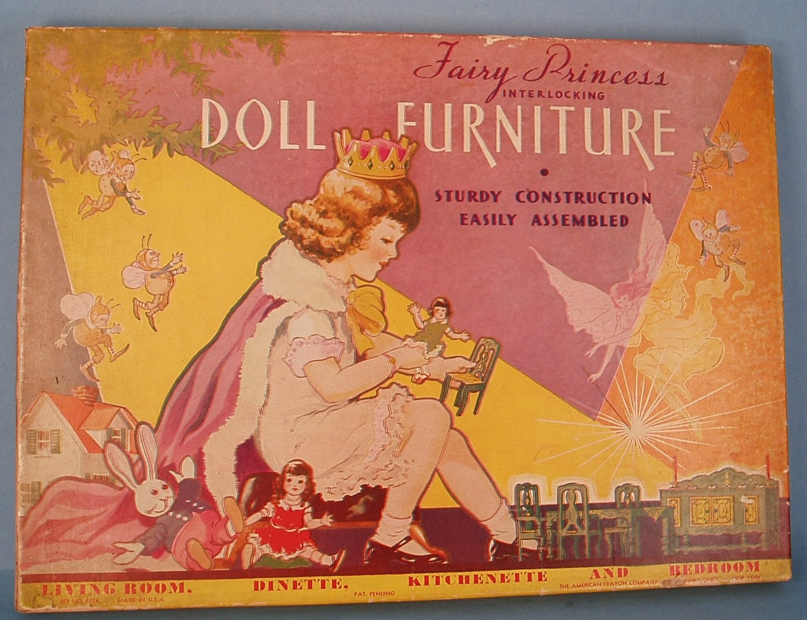 Fairy Princess Doll Furniture title=