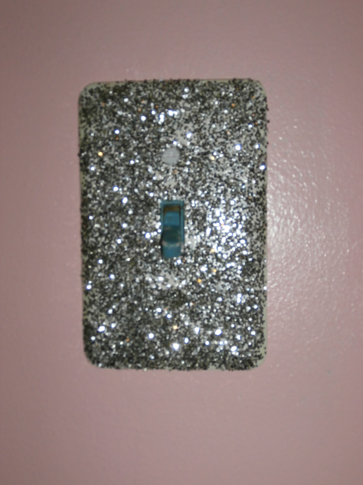 My Life in Podunk Sparkly Light Switch Covers