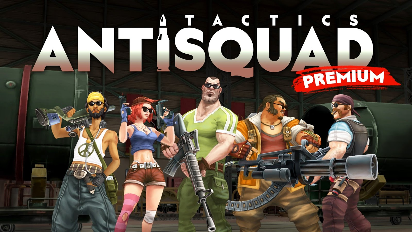 AntiSquad Tactics Premium Mod Apk Unlimited Money 1.8 Terbaru