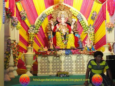 Wallpaper Of  Ganesh Chaturthi Festival