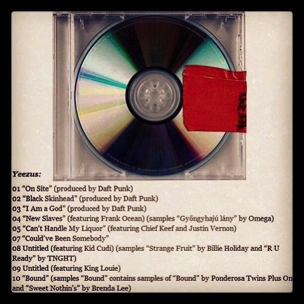 yeezus album leak download