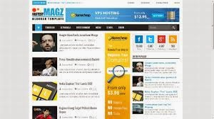 Download Template Fastest Magz Blogger Template milik Mas Sugeng Gratis