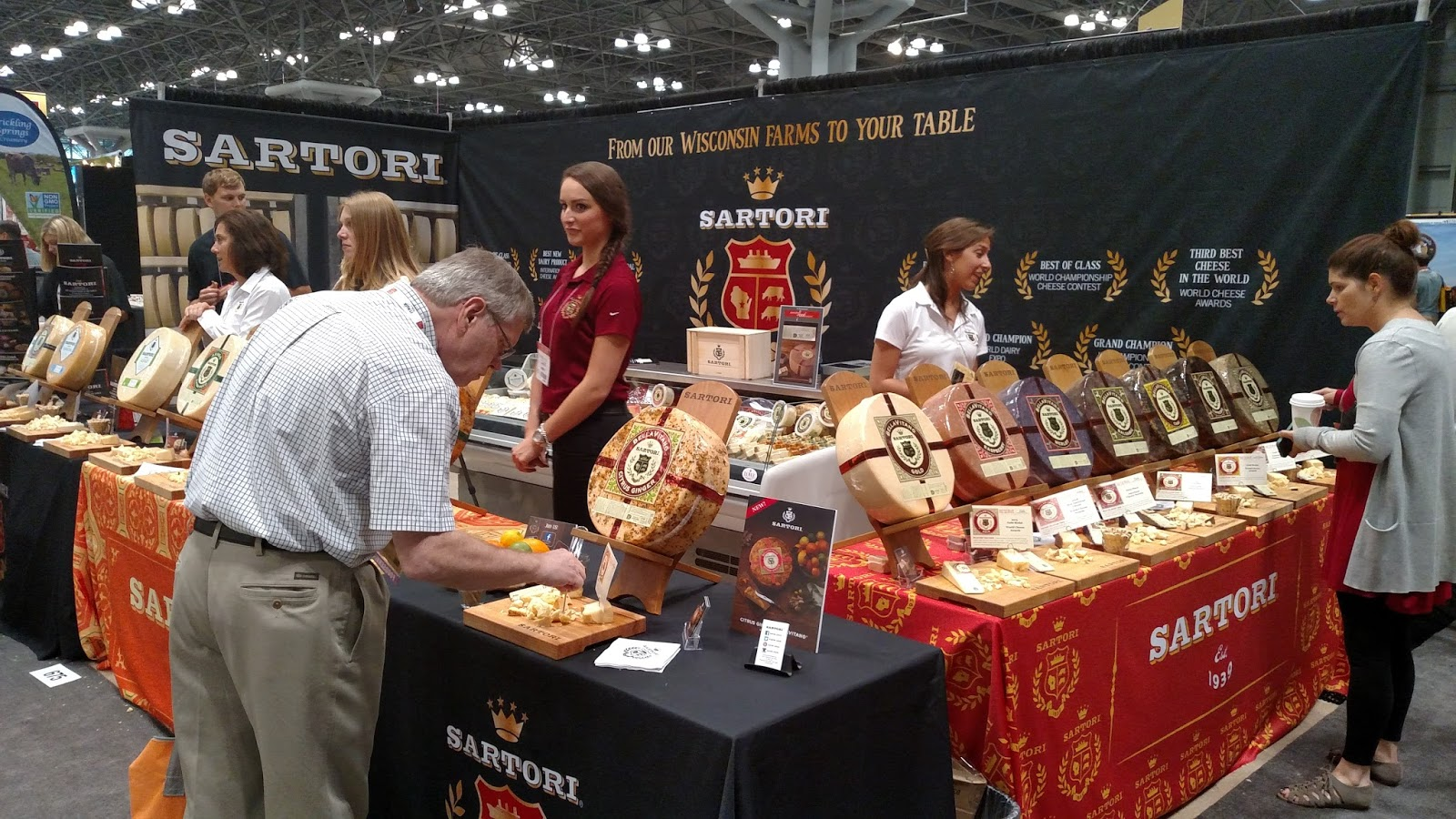 Sartori  Dave and I sampled so many varities that are not in TFM TFM Wine Lady   June 2015. Fancy Food Show Nyc 2015. Home Design Ideas