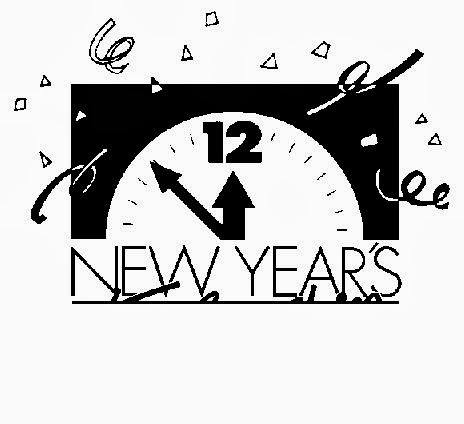 Beautiful New Year Clip Art In 2015