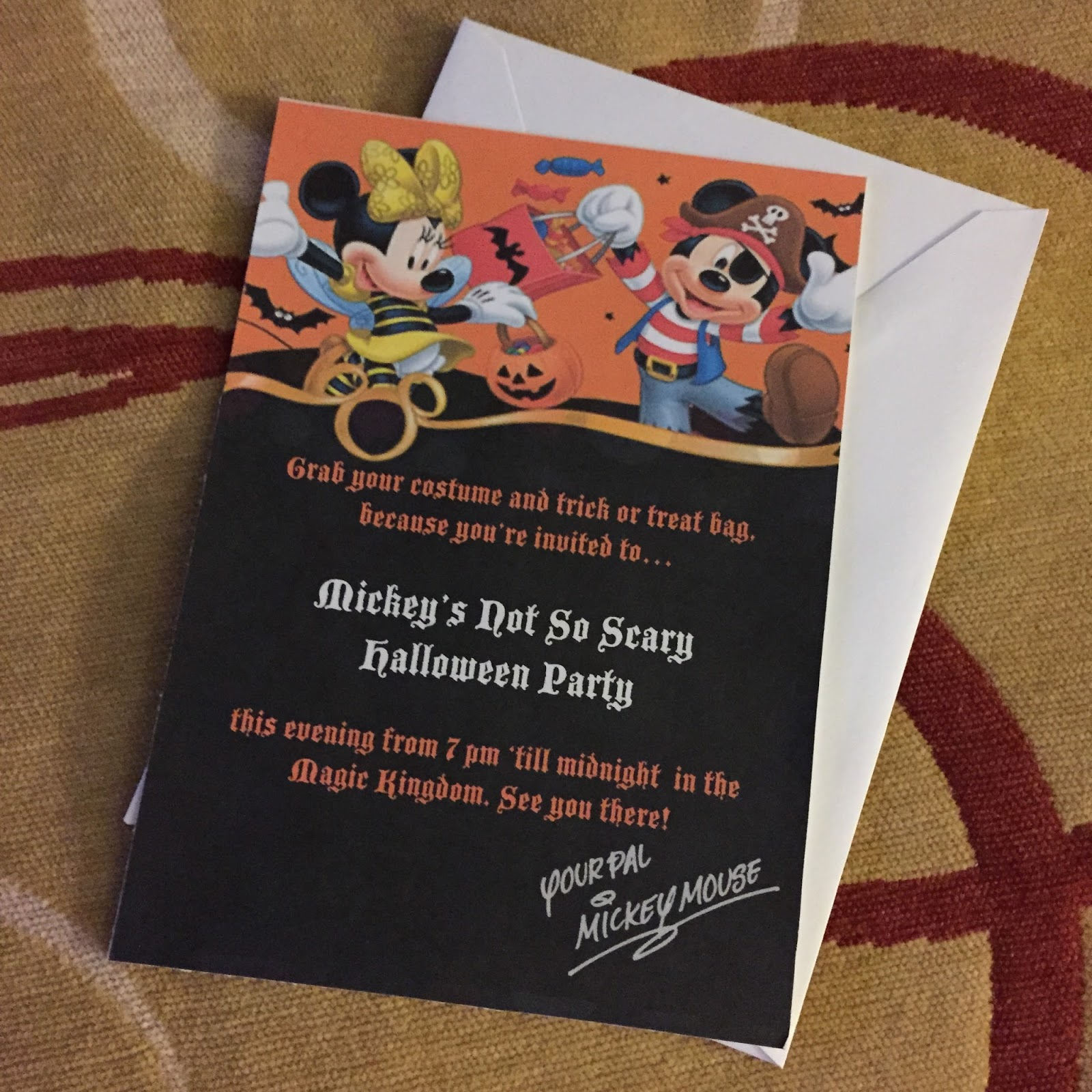 Mickey's Not So Scary Halloween Party 2014 | Creative in Color