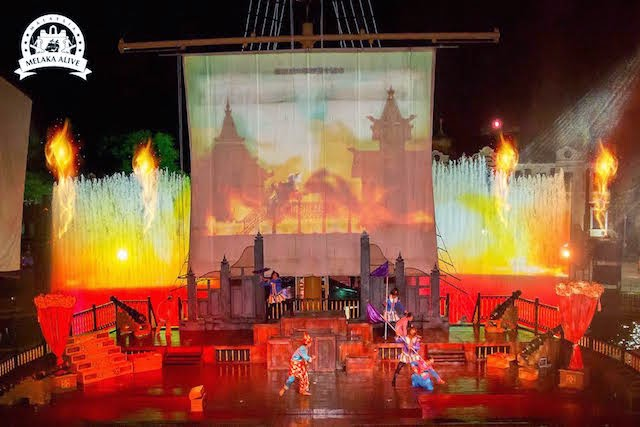 Melaka Alive nightly shows
