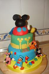 Mickey y sus amigos.
