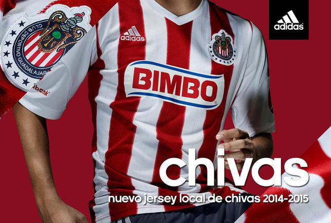 Playera que vestirán las Chivas en el torneo bajo el lema ''Siempre Chivas''.