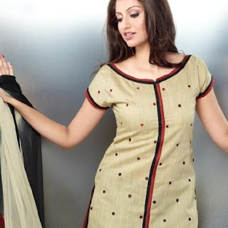 Simple Salwar Kameez Neck Design fashion