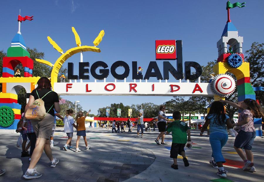 Legoland terbesar di dunia dibuka di Florida