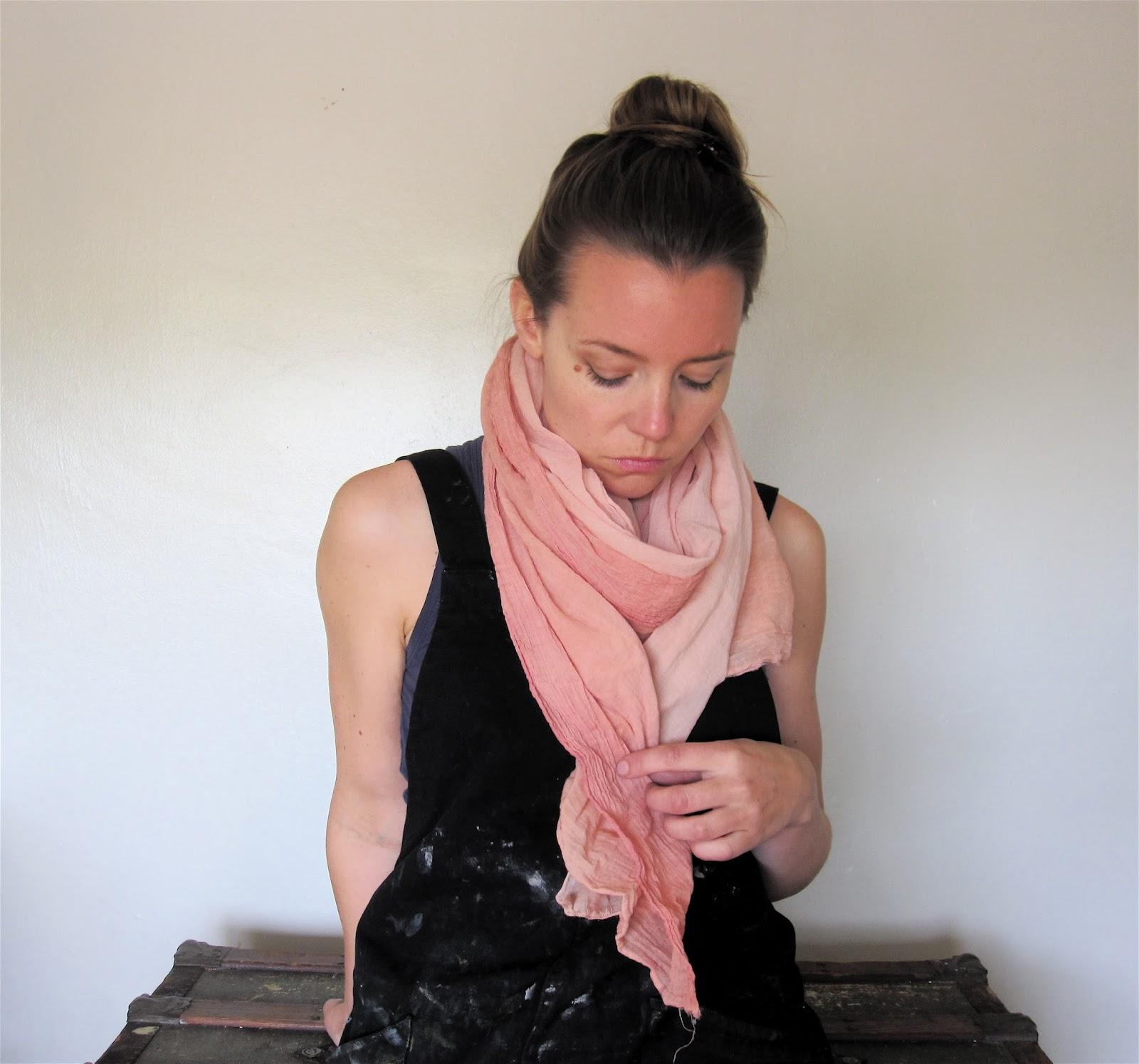 natural dye cotton wrap madder cebracho cochineal