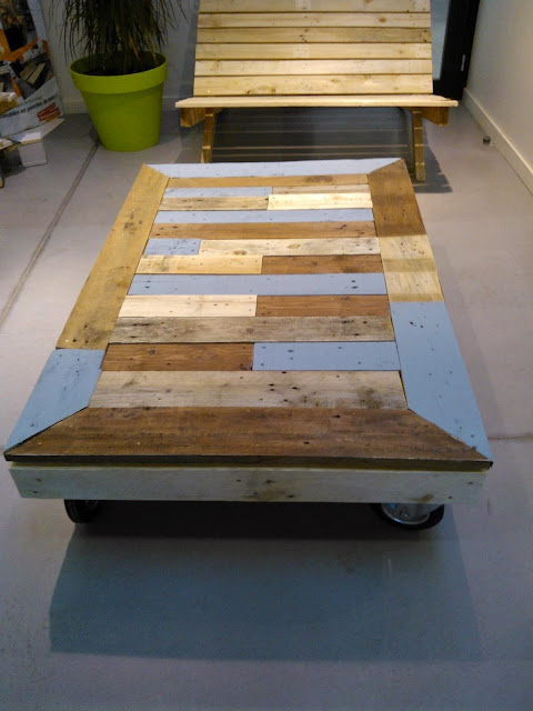 Cours de recyclage palettes cr ation for Recyclage palette