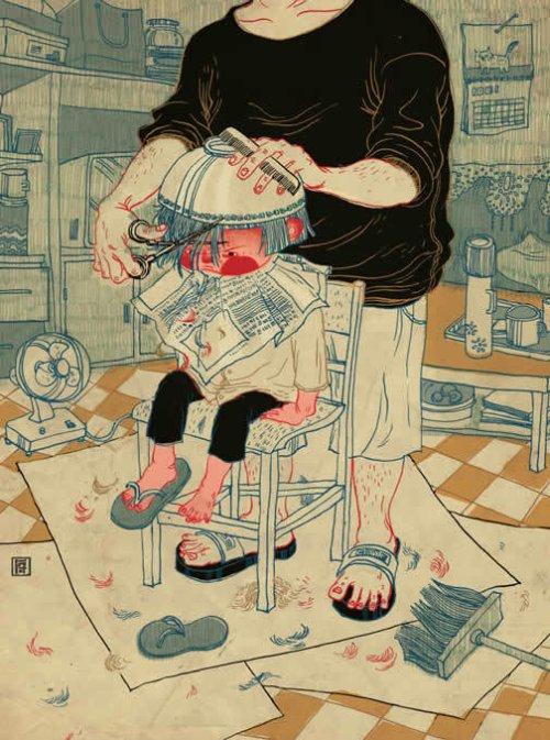 victo ngai ilustrações de revistas