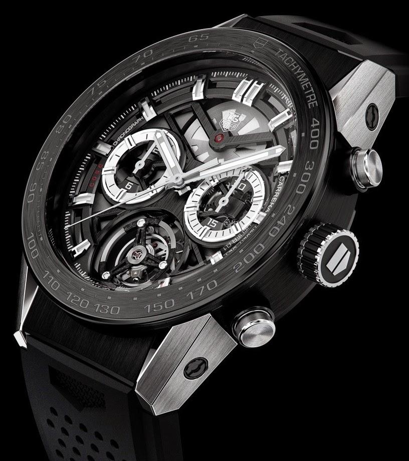 j 39 aime les montres la montre du jour tag heuer carrera chronographe tourbillon. Black Bedroom Furniture Sets. Home Design Ideas