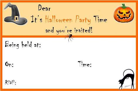 Free Printable Halloween Party Invitation Templates Halloween – Costume Party Invitations Free Printable