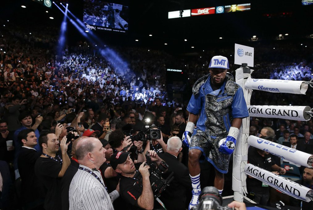 9jaFlave - Think Inspiration: Celebs at the Mayweather Fight (Photos)