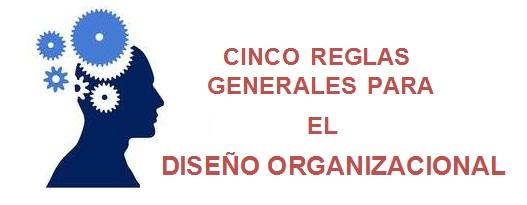 Reglas generales para el diseño organizacional