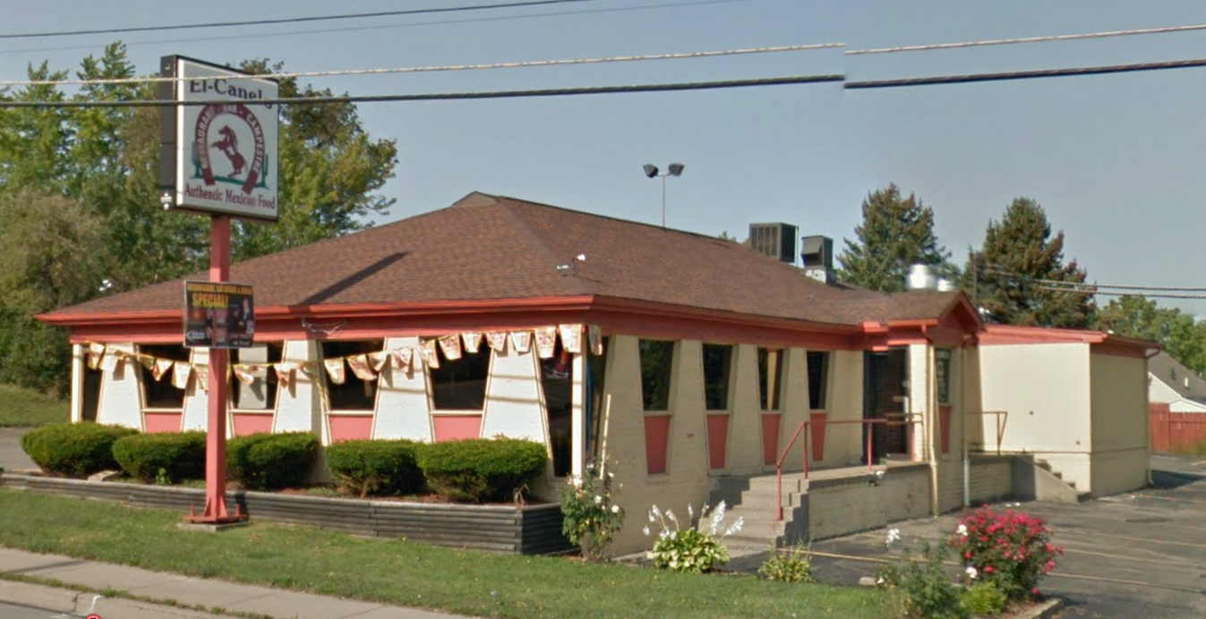 Used to Be a Pizza Hut: El Canelo in Erie, PA