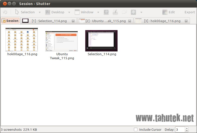 Shutter: aplikasi pengambil gambar kaya fitur