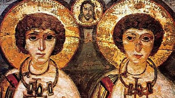 Bodas de semejanza: San Sergio y San Baco.