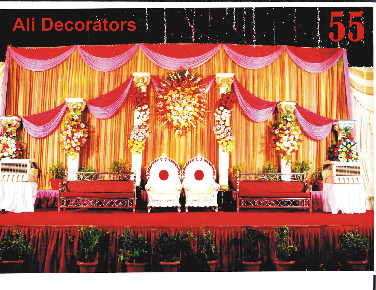Ali decorators mandap decoration light decoration for Decoration decoration