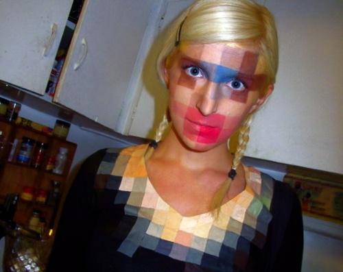 Pop art comic girl & Dishfunctional Designs: Creatively Cool Halloween Costumes