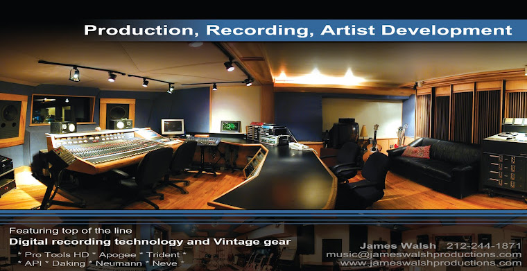 Recording Studios and Music Producers in NYC