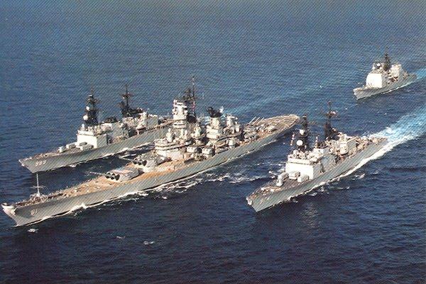 Image result for US war ships head towards North Korea