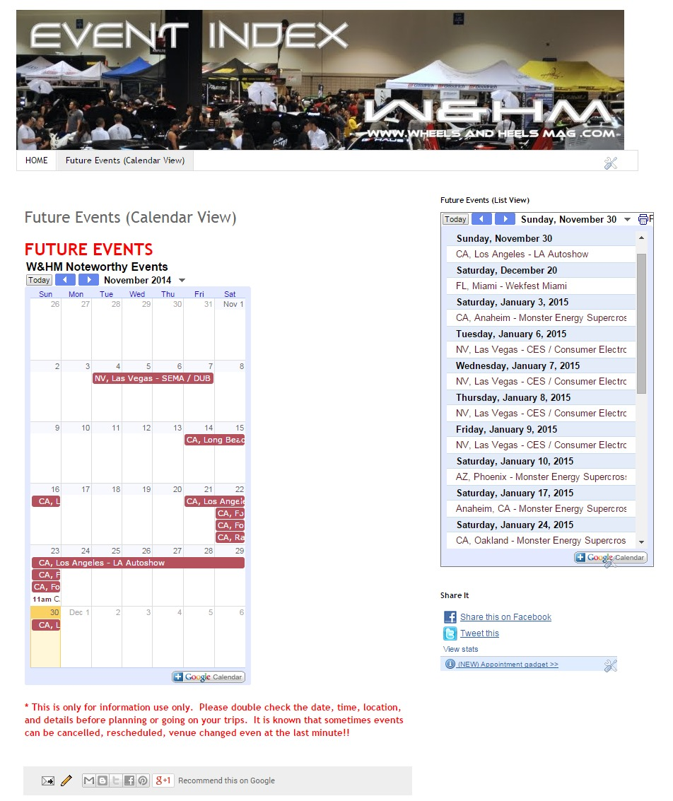 WHM Wheels And Heels Magazine Car Show Event Calendar - Car show event calendar