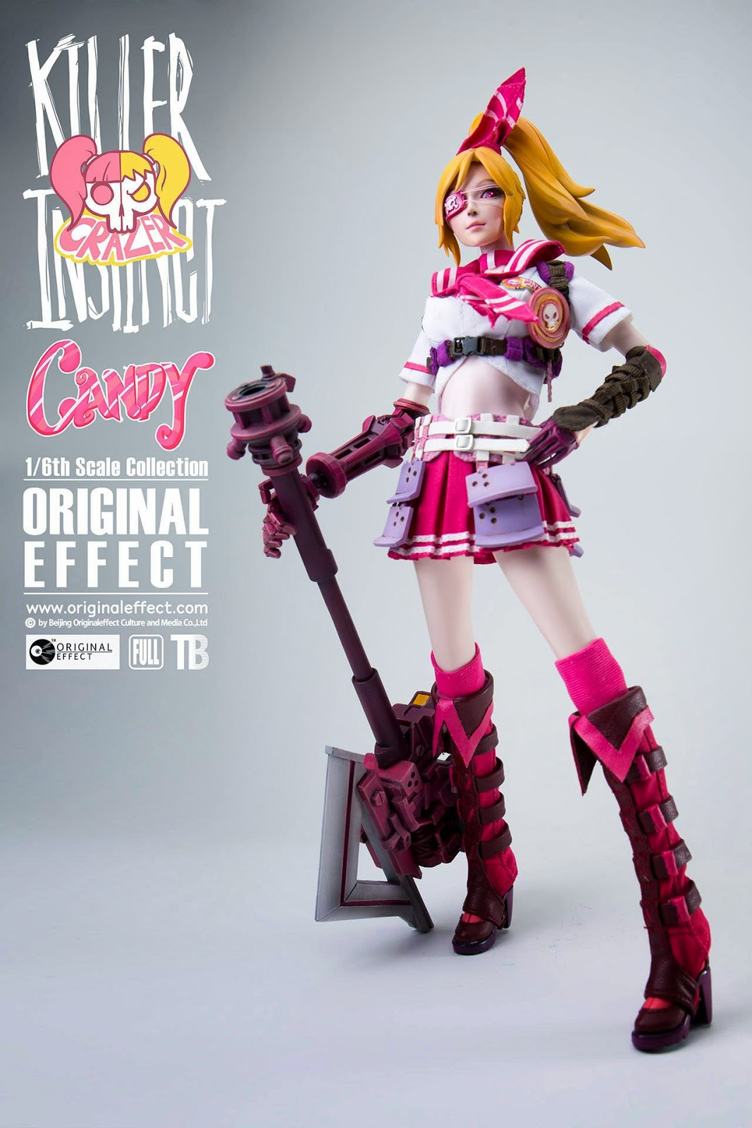 toyhaven: Incoming: OE (Original Effect) 1/6 scale Army